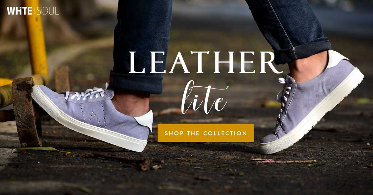 593c966c97c Mens Leather Sneaker Shoes - White Soul