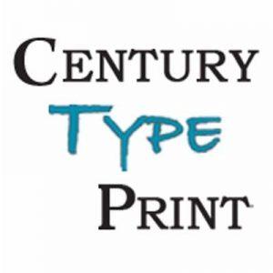 Century Type Print