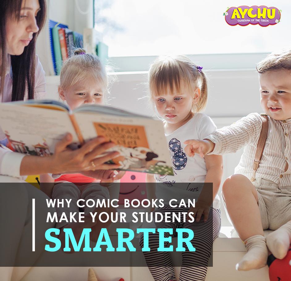 comic books can make students smarter