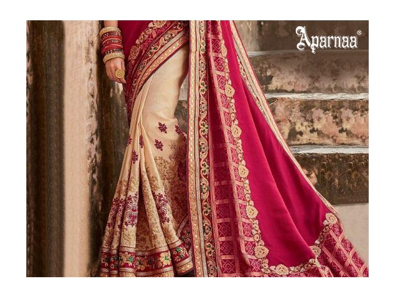 designer Silk fabric sarees