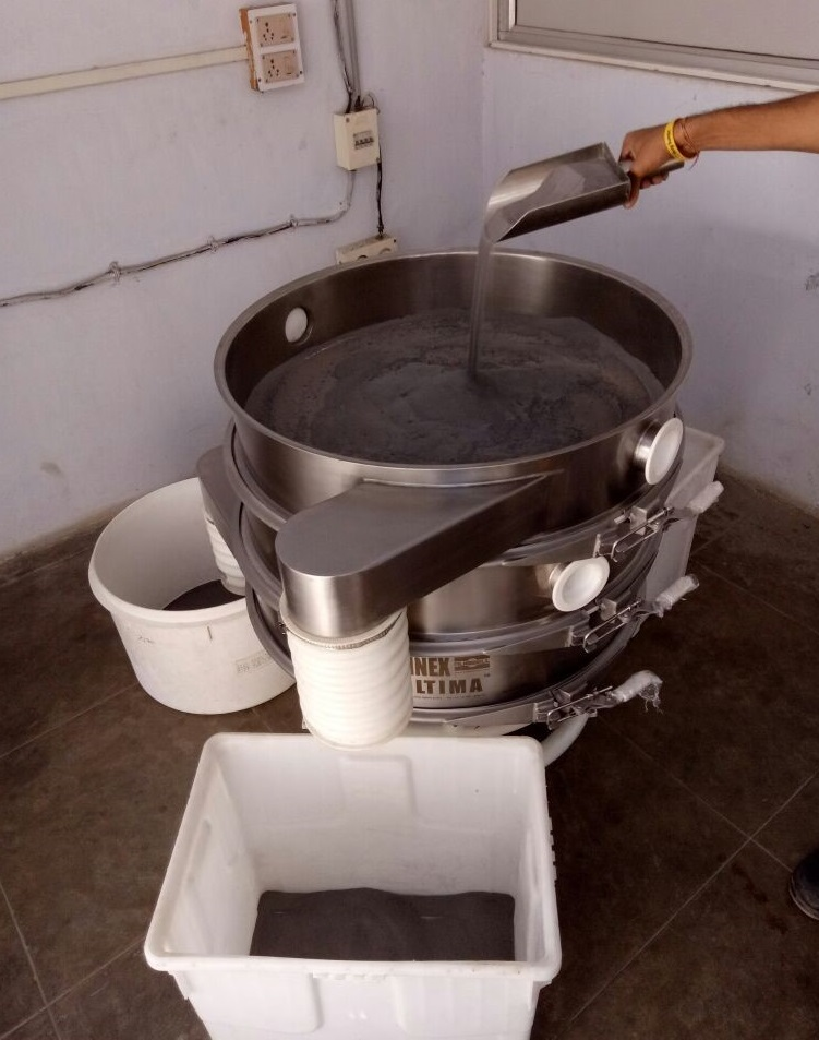 Vibrating sieving solution
