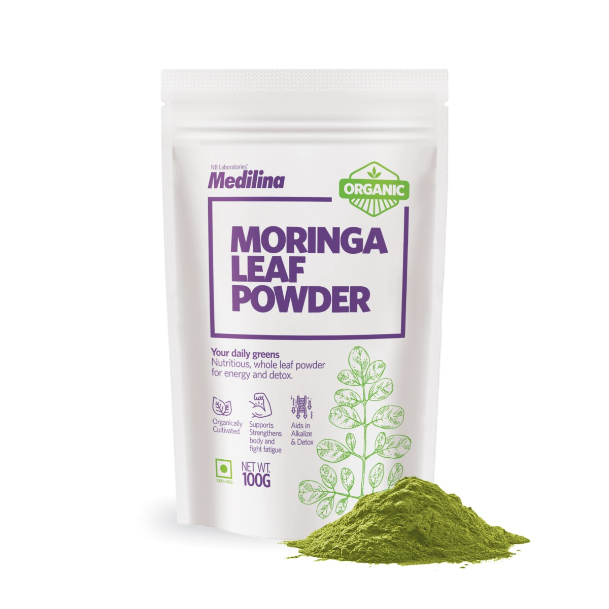 Moringa Leaf Sample Pouch