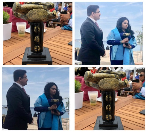 Sandeep Marwah Honored With Life Time Achievement Award