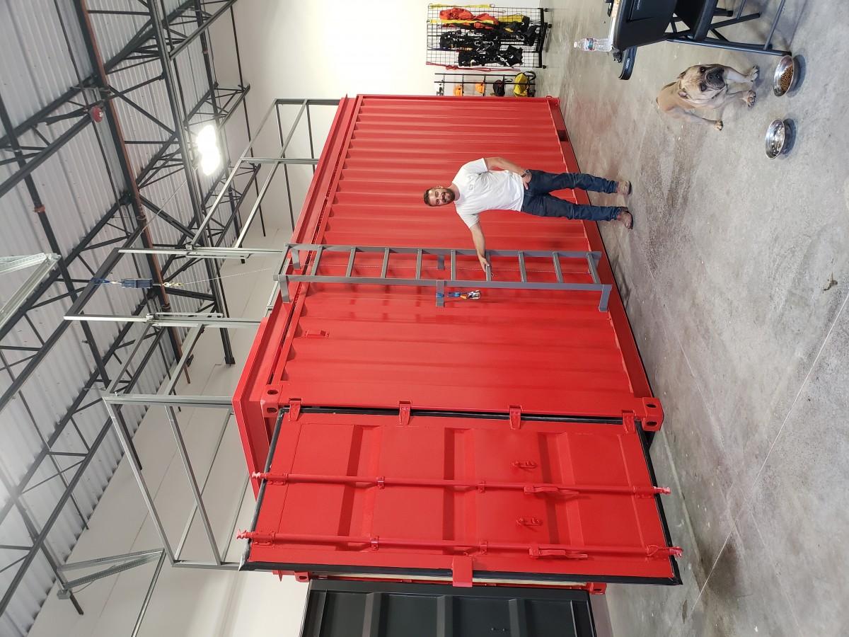 Container Training Simulator Space